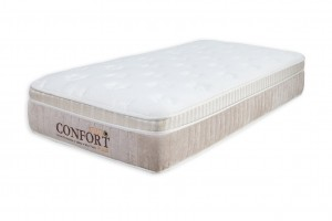 Colchão Euro Confort Solteiro King 0.96x2.03x0.28