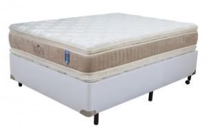 Conjunto Double Pillow Hotelaria Casal Padrão 1.38x1.88x0.74