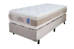 Conjunto Double Pillow Hotelaria Solteiro 0.78x1.88x0.74