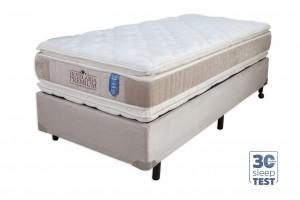 Conjunto Double Pillow Hotelaria Solteiro King 0.96x2.03x0.74