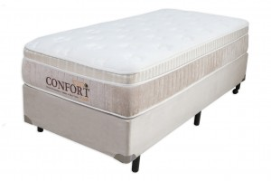 Conjunto Euro Confort Toque de Classe Solteiro 0.78x1.88x0.66