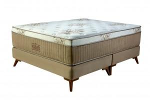 Conjunto Hotelaria Premium Bellagio Inverter Queen 1.58x1.98x0.73