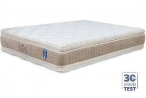 Colchão Double Pillow Hotelaria Premium Casal Padrão 1.38x1.88x0.35