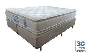Conjunto Double Pillow New Hotelaria Queen 1.58x1.98x0.74