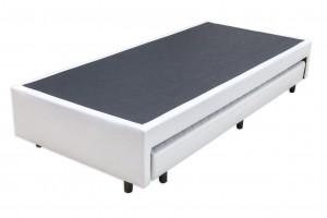Base Auxiliar Espuma Prime Couro Eco Branco 0.88x1.88x27 (6 Cm)