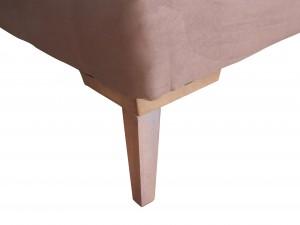 Cama Inverter Suede Marrom - King 1.93x2.03x0.33