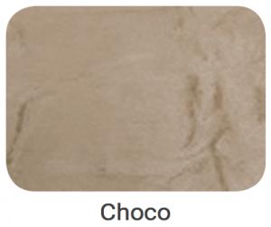 Cabeceira Splendor Suede Amassado Chocolate 1.60