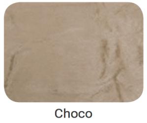 Cabeceira Montreal Suede Amassado Choco 1.60