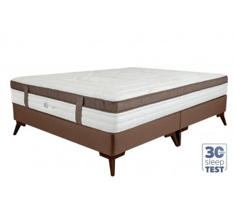 Conjunto Glamour For Kings com Cama Inverter - Med. Queen 1.58x1.98x0.73