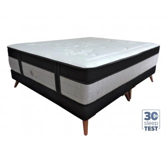 Conjunto Optimum New com Cama Inverter For Kings - Queen - 1.58x1.98x0.73
